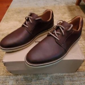 Clark's Grandin Plain Tan Men's Shoes